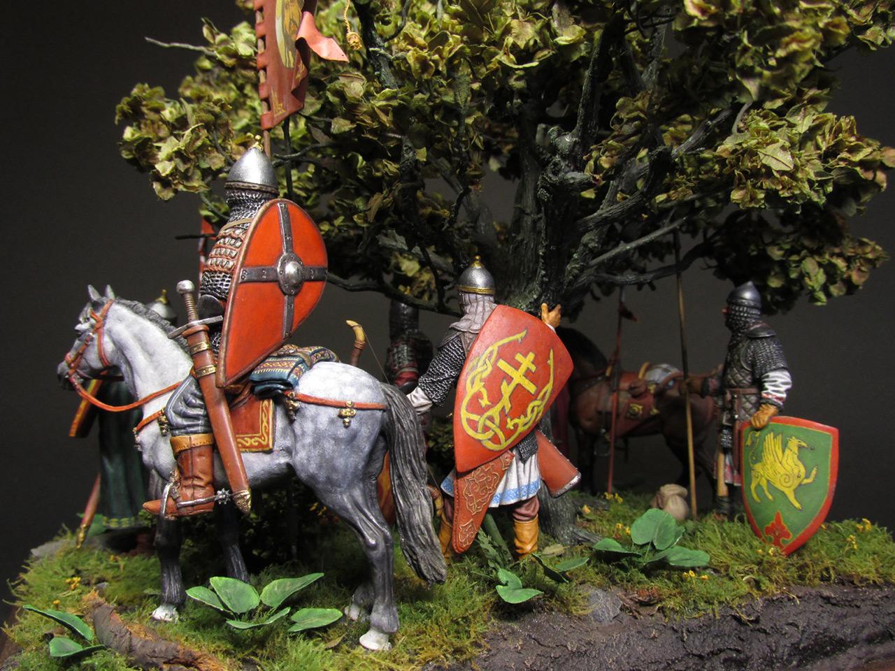Диорамы и виньетки: Засадный полк, фото #10