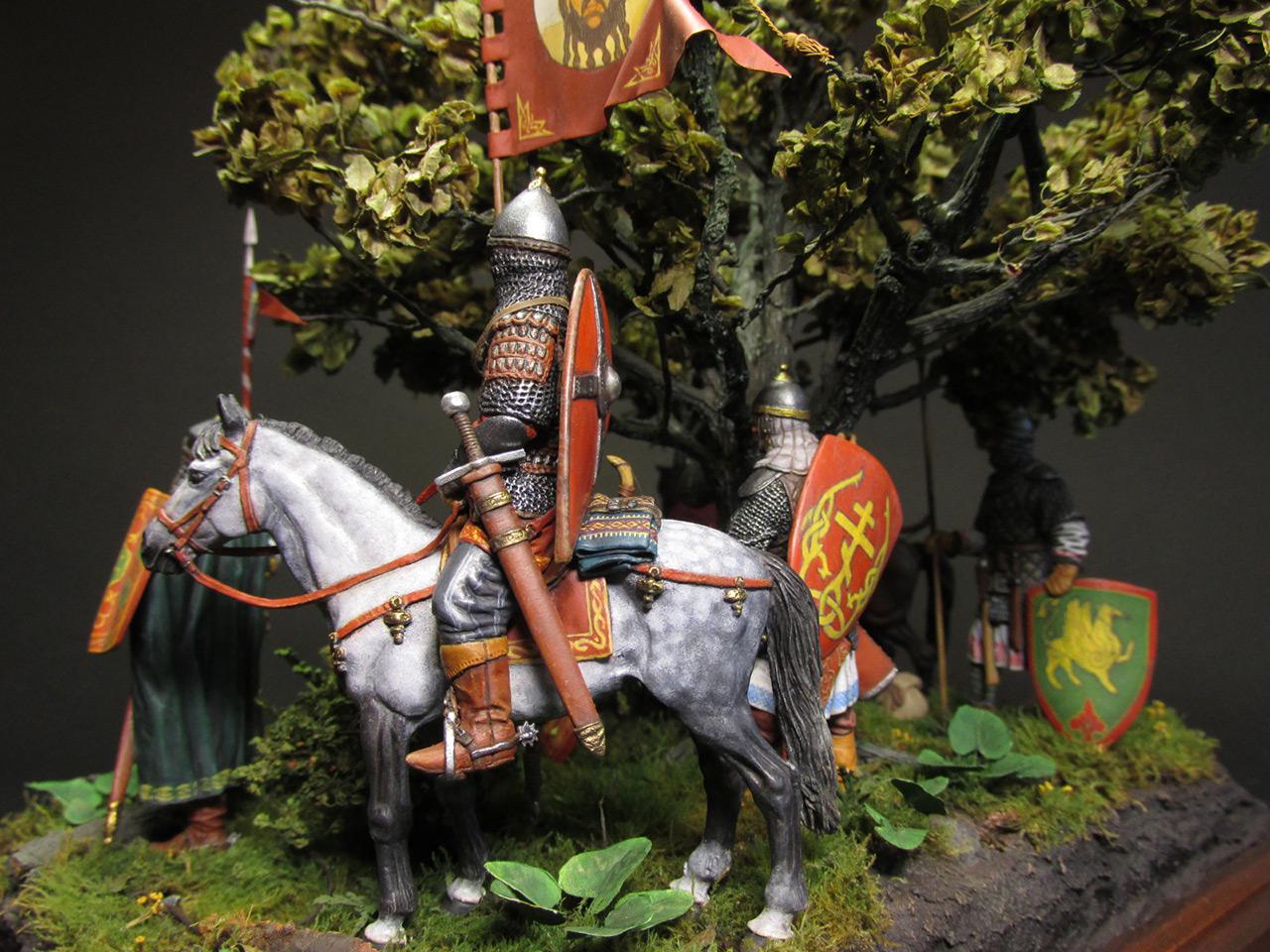 Диорамы и виньетки: Засадный полк, фото #11