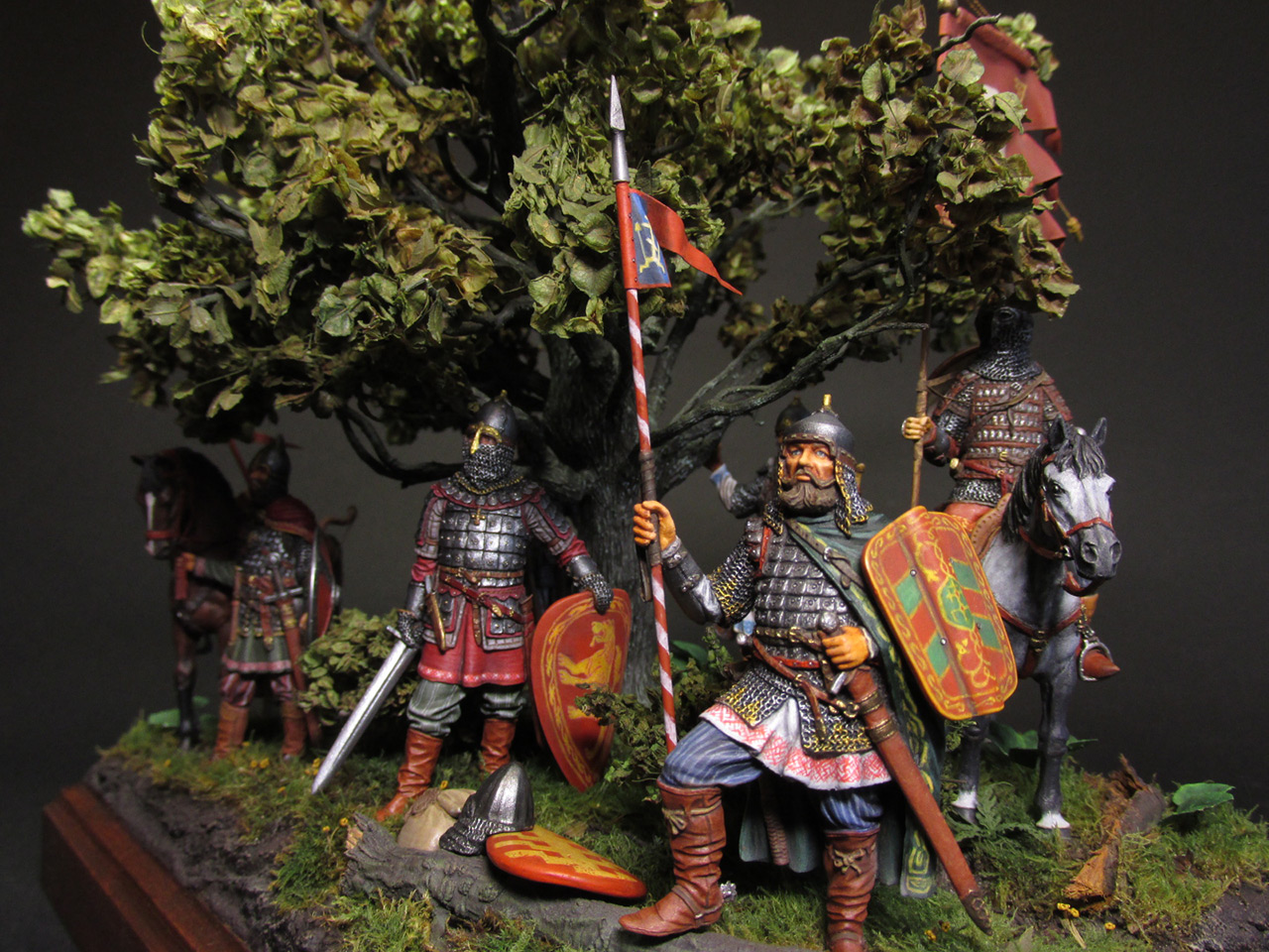 Диорамы и виньетки: Засадный полк, фото #15