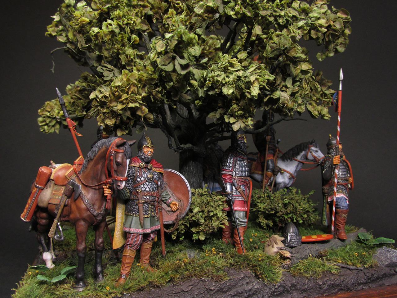 Диорамы и виньетки: Засадный полк, фото #2