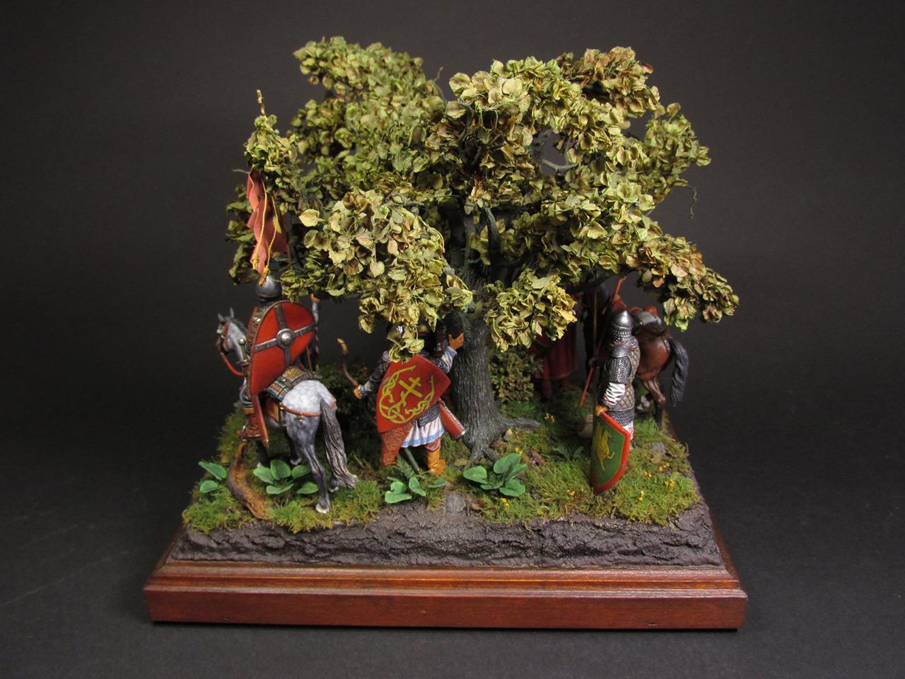 Диорамы и виньетки: Засадный полк, фото #22