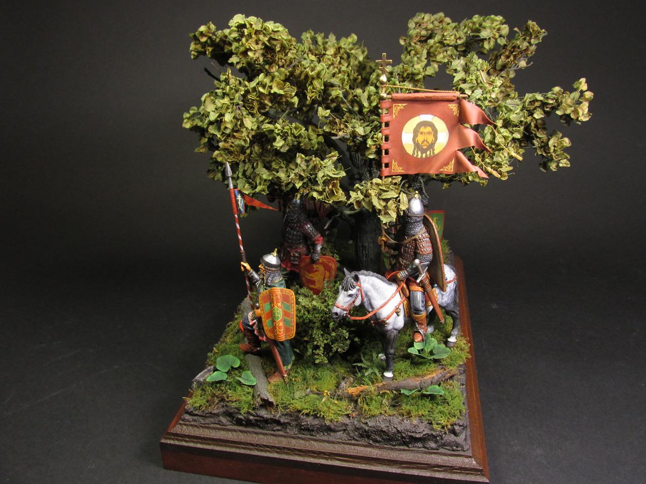 Диорамы и виньетки: Засадный полк, фото #24