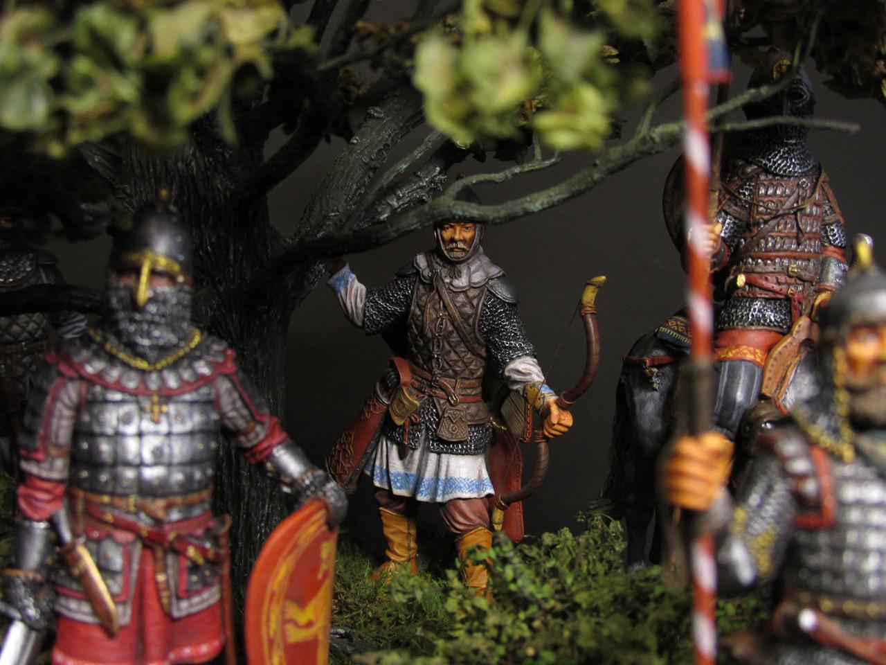 Диорамы и виньетки: Засадный полк, фото #27