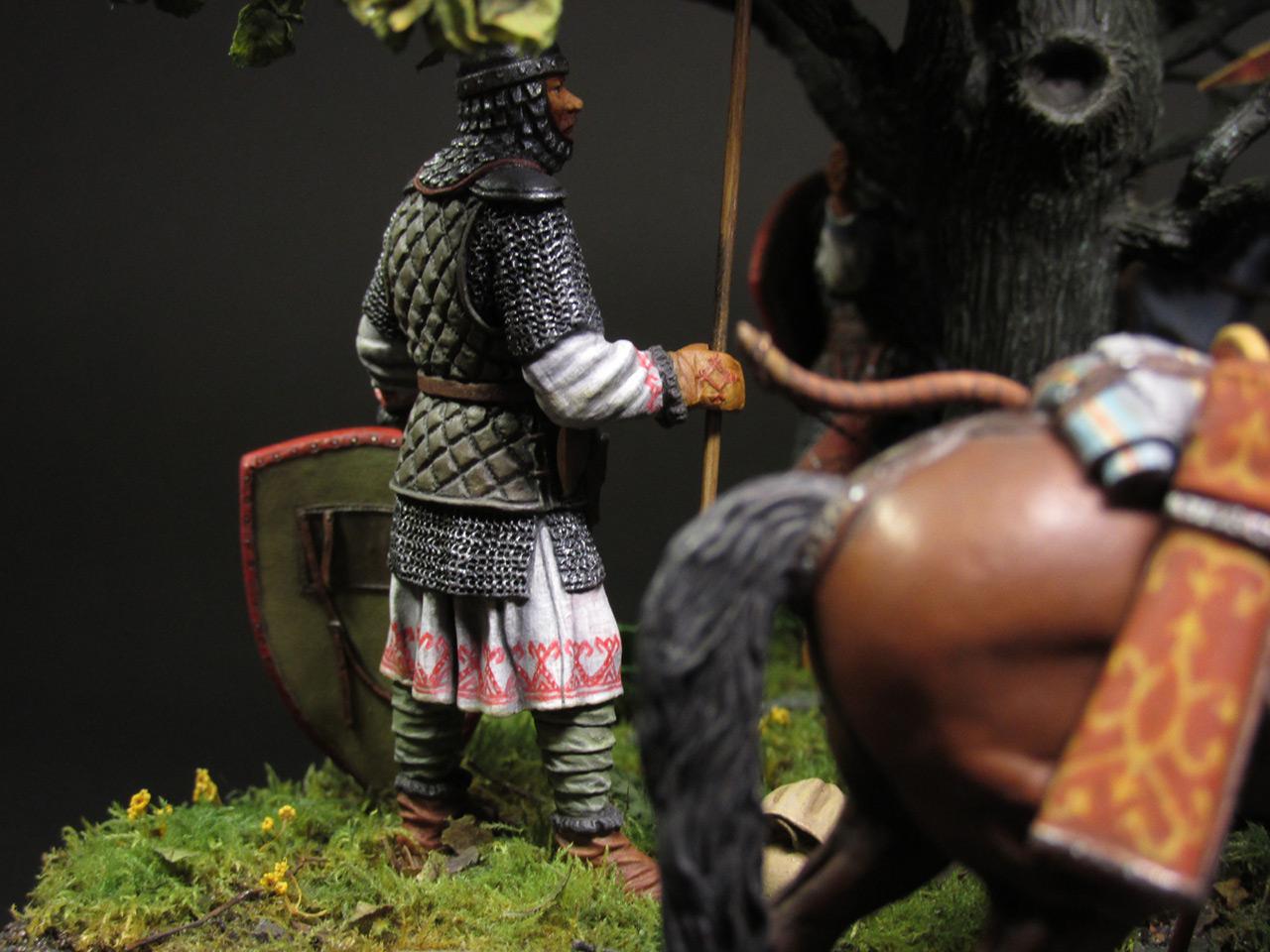 Диорамы и виньетки: Засадный полк, фото #28