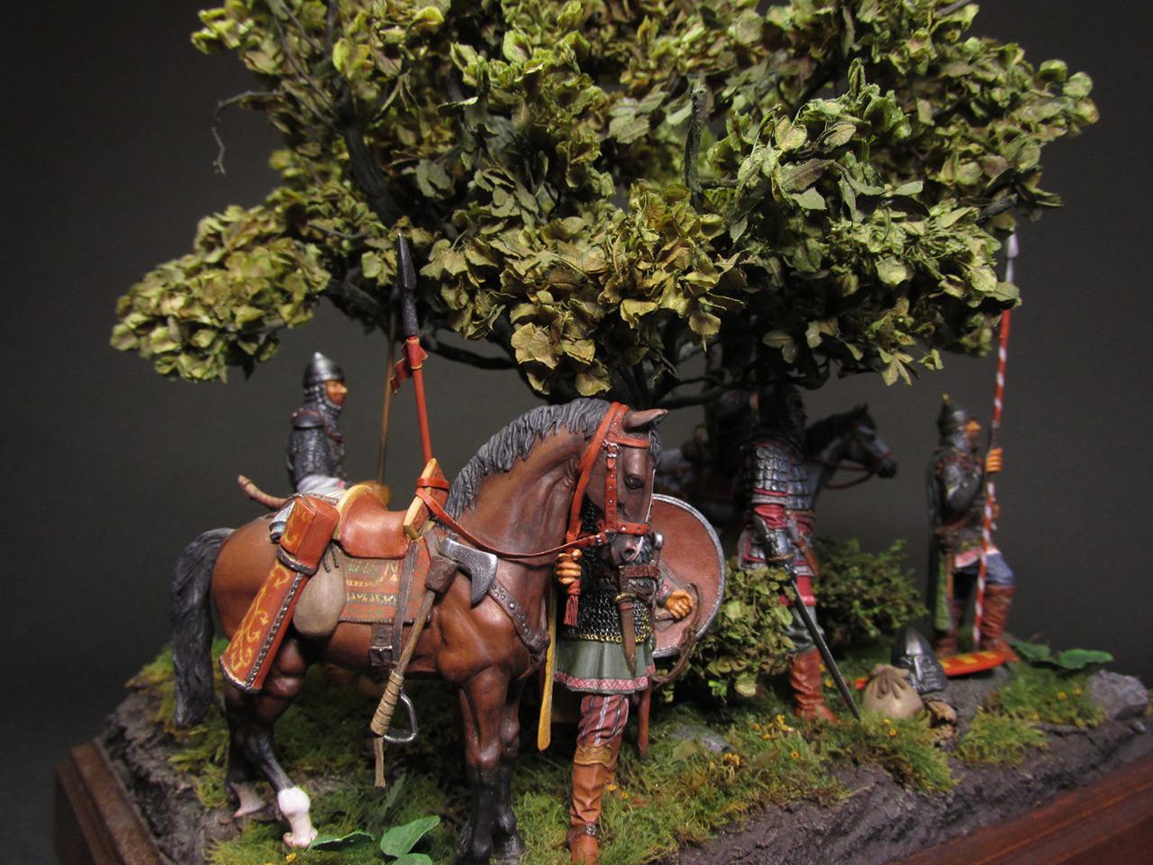 Диорамы и виньетки: Засадный полк, фото #3