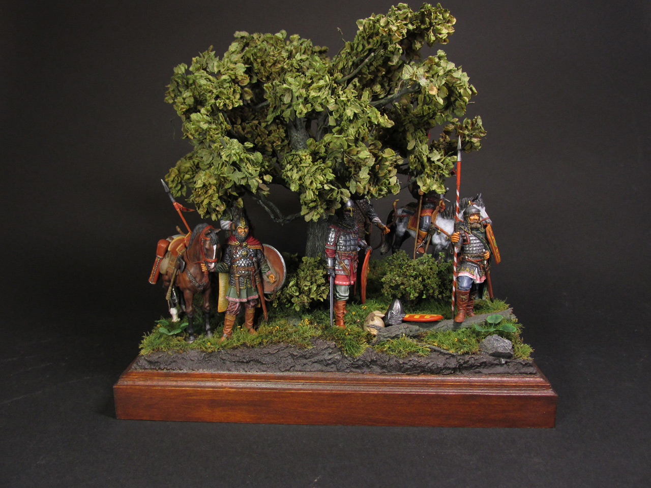 Диорамы и виньетки: Засадный полк, фото #31