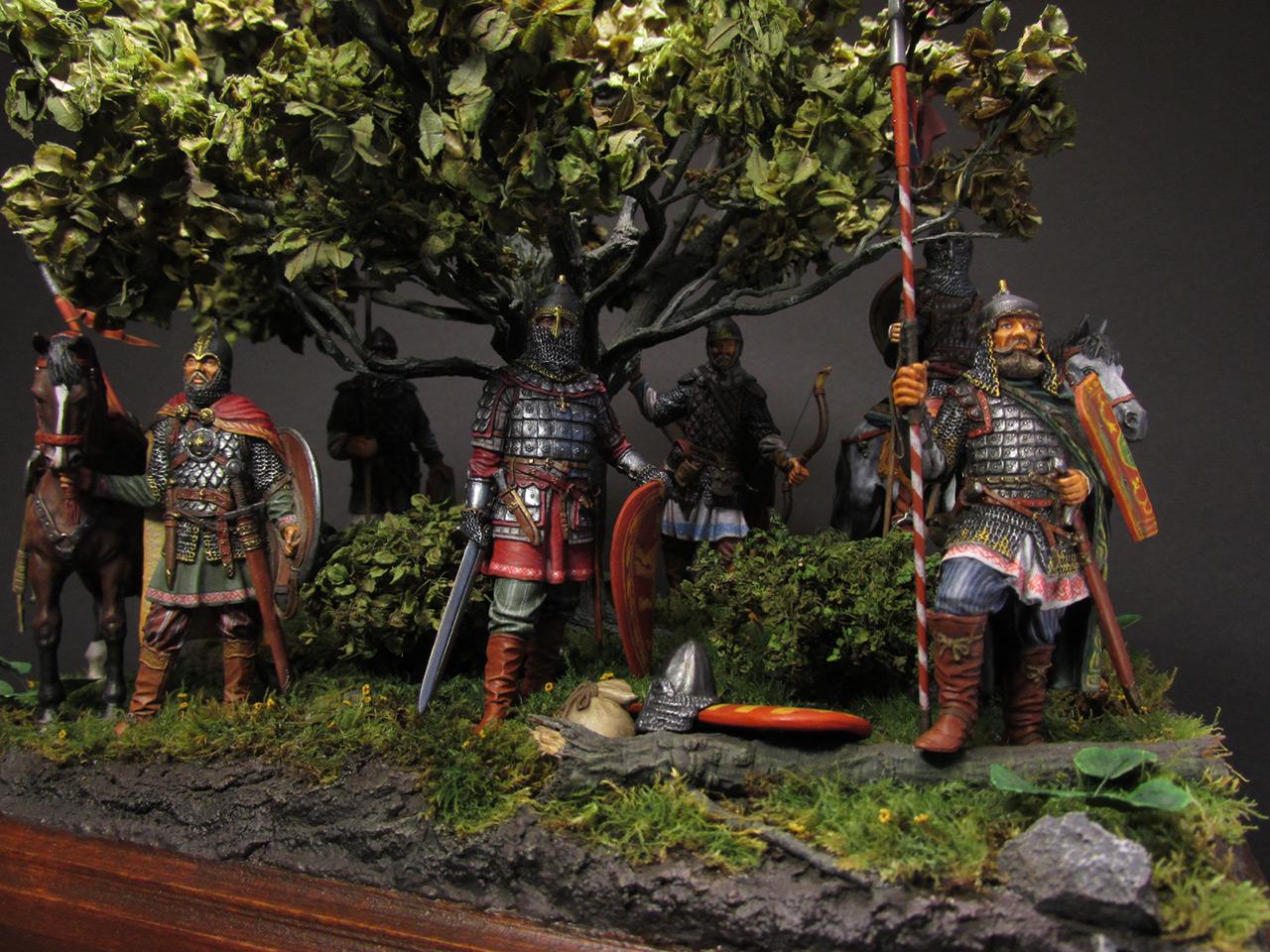 Диорамы и виньетки: Засадный полк, фото #33