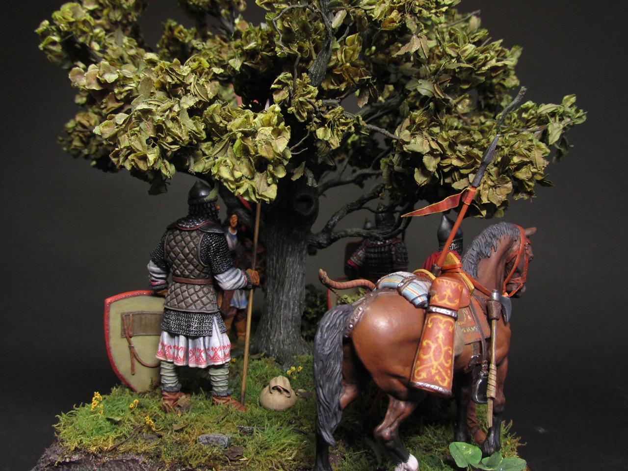 Диорамы и виньетки: Засадный полк, фото #5