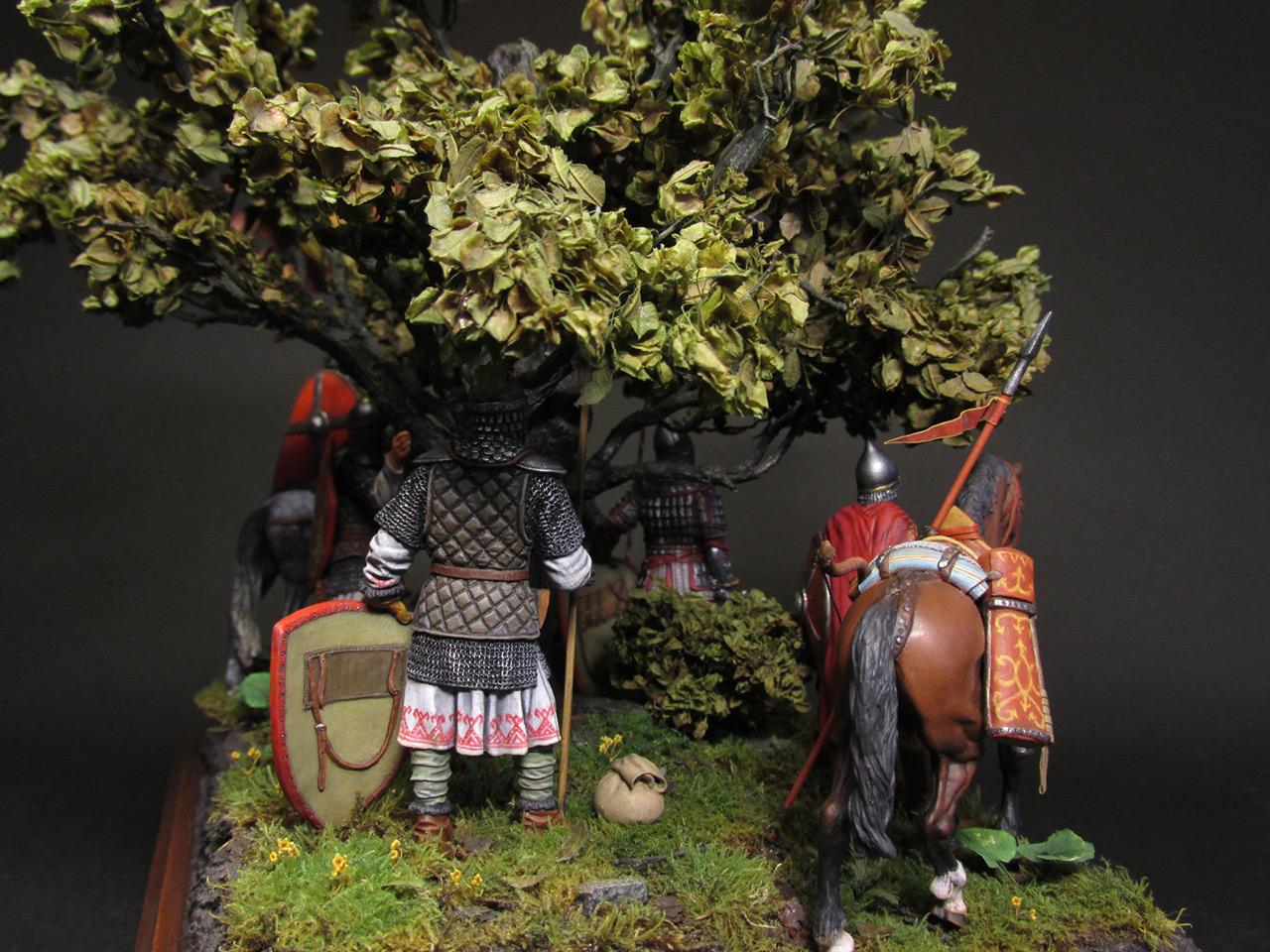 Диорамы и виньетки: Засадный полк, фото #6