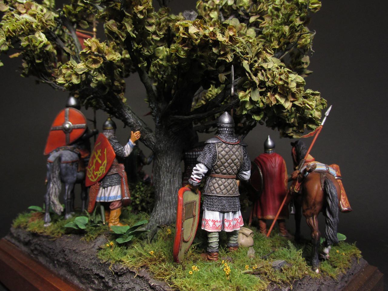 Диорамы и виньетки: Засадный полк, фото #7