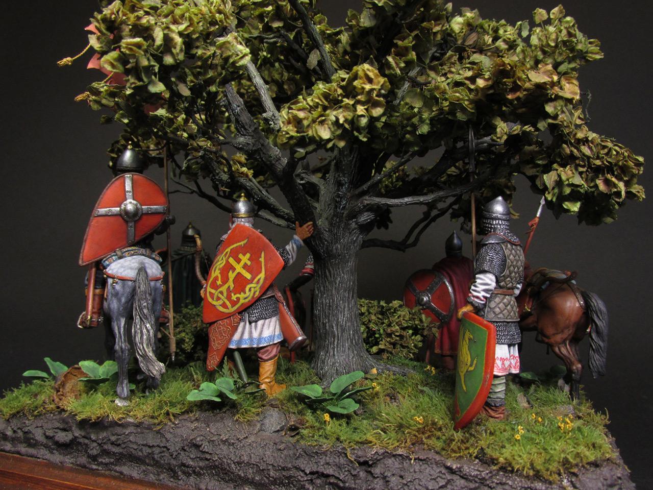 Диорамы и виньетки: Засадный полк, фото #8