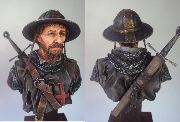 Фигурки: Рыцарь - ветеран
