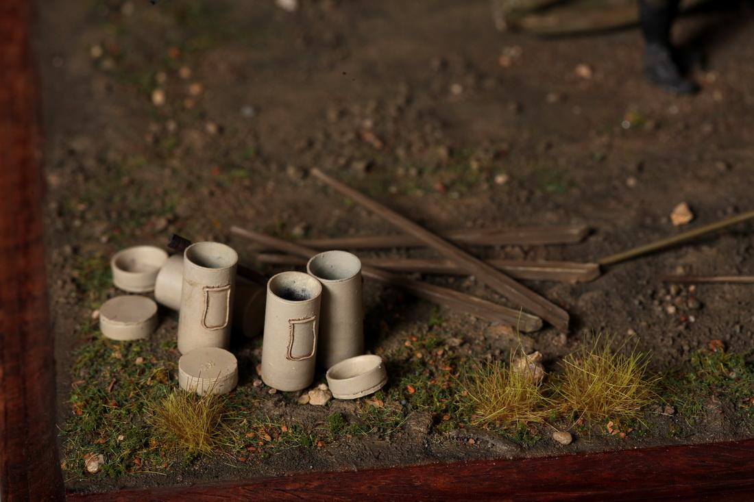 Диорамы и виньетки: 8-дюймовое тяжелое орудие Mk II , фото #26