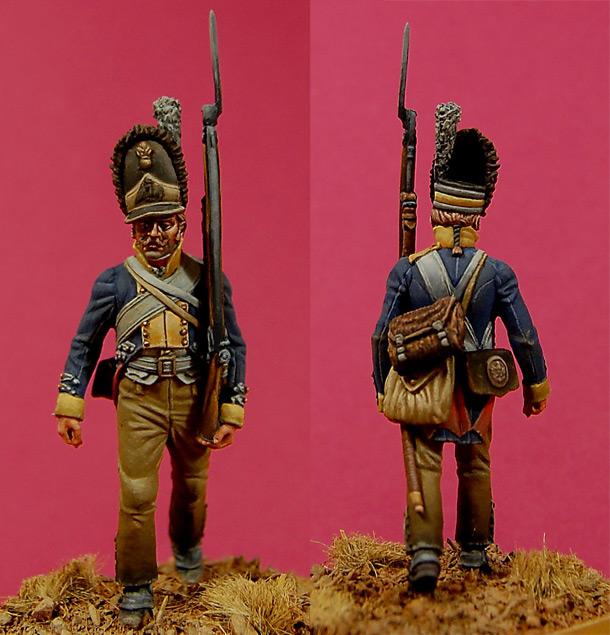 Фигурки: Гренадер полка №10 «Wedel», Пруссия, 1806
