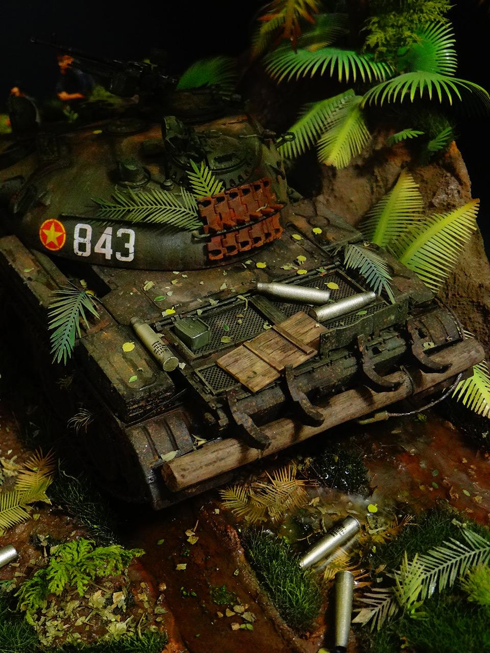Диорамы и виньетки: Т-54. Вьетнам, фото #4