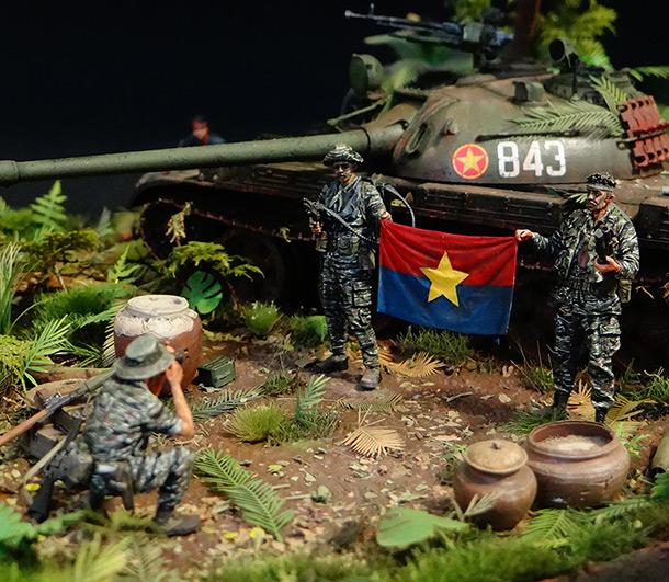 Диорамы и виньетки: Т-54. Вьетнам