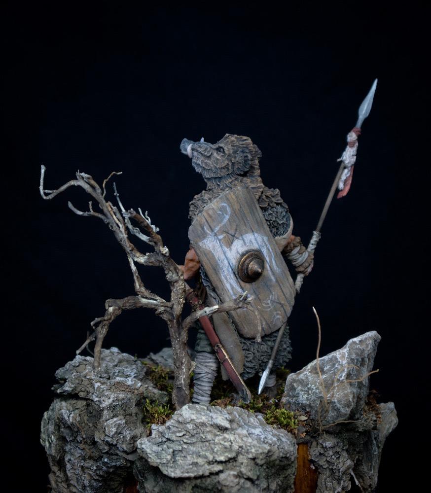 Фигурки: Знатный германский воин. 9 год н.э. , фото #5