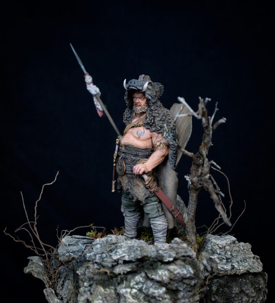 Фигурки: Знатный германский воин. 9 год н.э. , фото #6