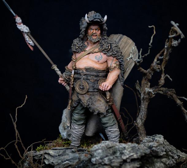 Фигурки: Знатный германский воин. 9 год н.э.