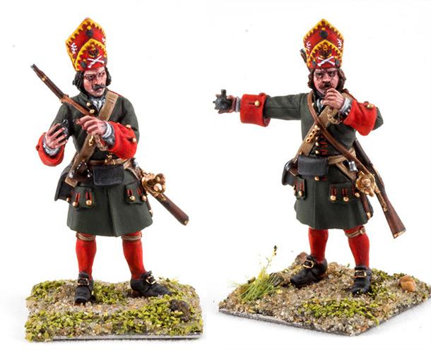 Фигурки: Гренадеры пехотных полков Петра I