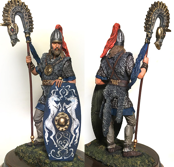 Фигурки: Германский штандартоносец, 3 век н.э.