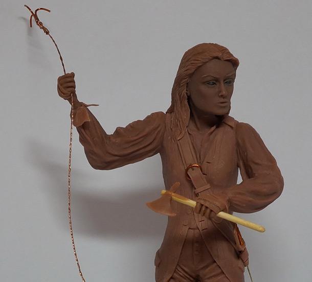 Скульптура: Пиратская капитанша