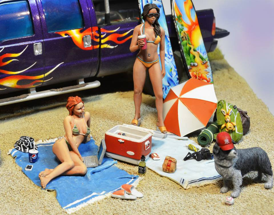 Диорамы и виньетки:  Aloha!, фото #5