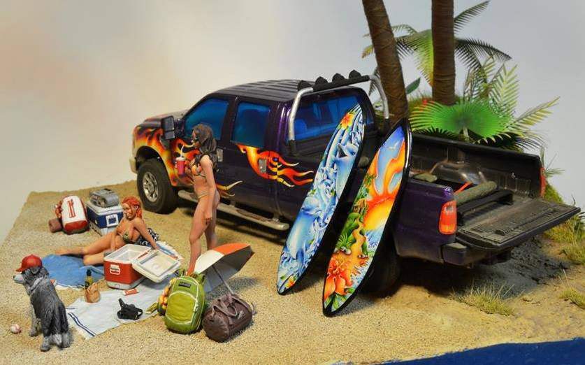 Диорамы и виньетки:  Aloha!, фото #7
