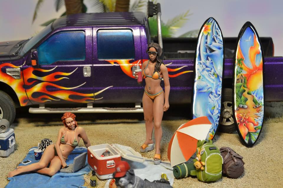 Диорамы и виньетки:  Aloha!, фото #8