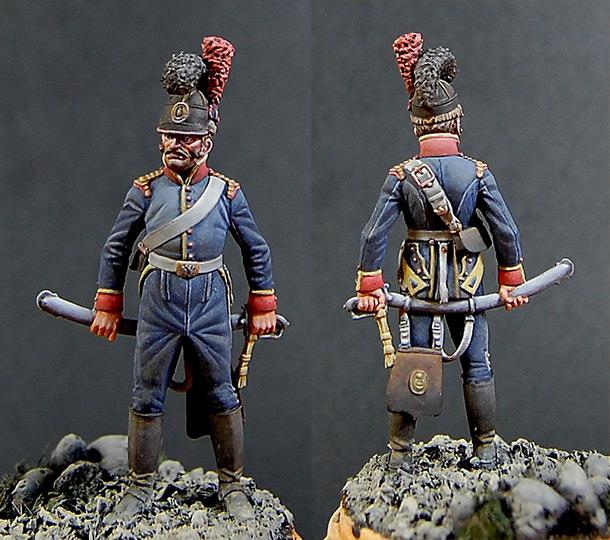 Фигурки: Рядовой 6-го кавалерийского полка, Португалия, 1806 г.