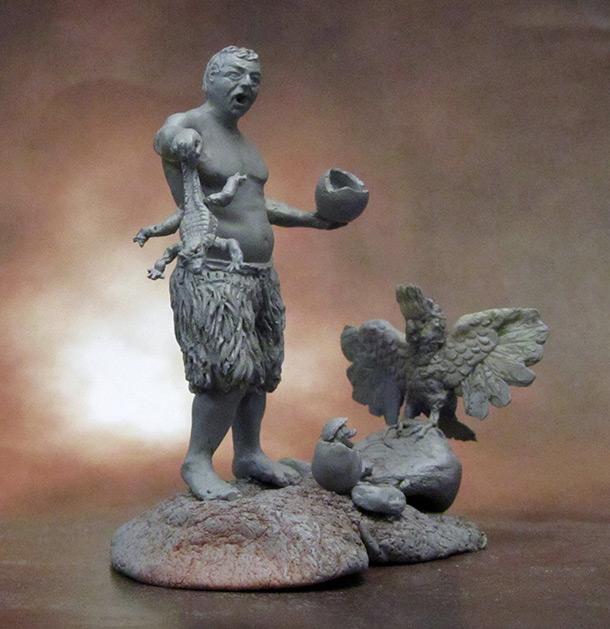 Скульптура: Синьор Робинзон