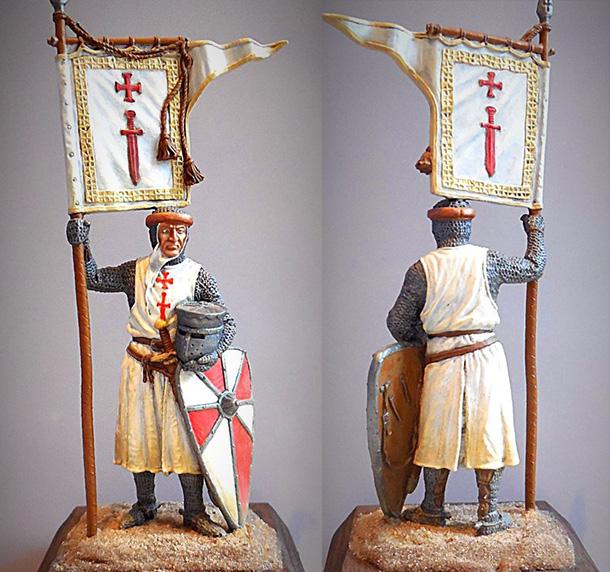 Фигурки: Крестоносец ордена меча.