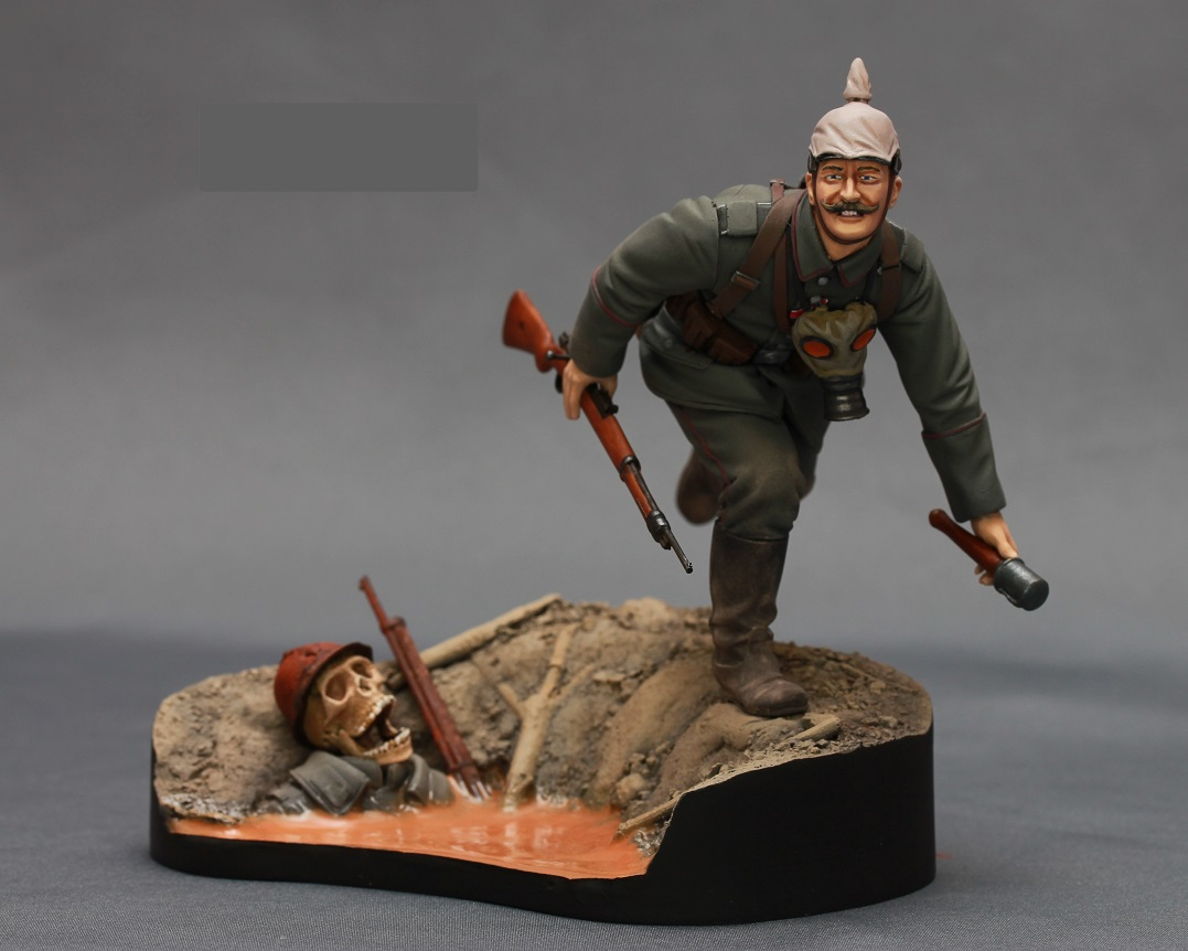 Фигурки: Немецкий пехотинец. Первая Мировая Война, фото #2