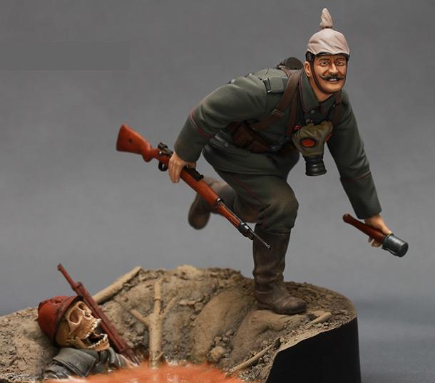 Фигурки: Немецкий пехотинец. Первая Мировая Война