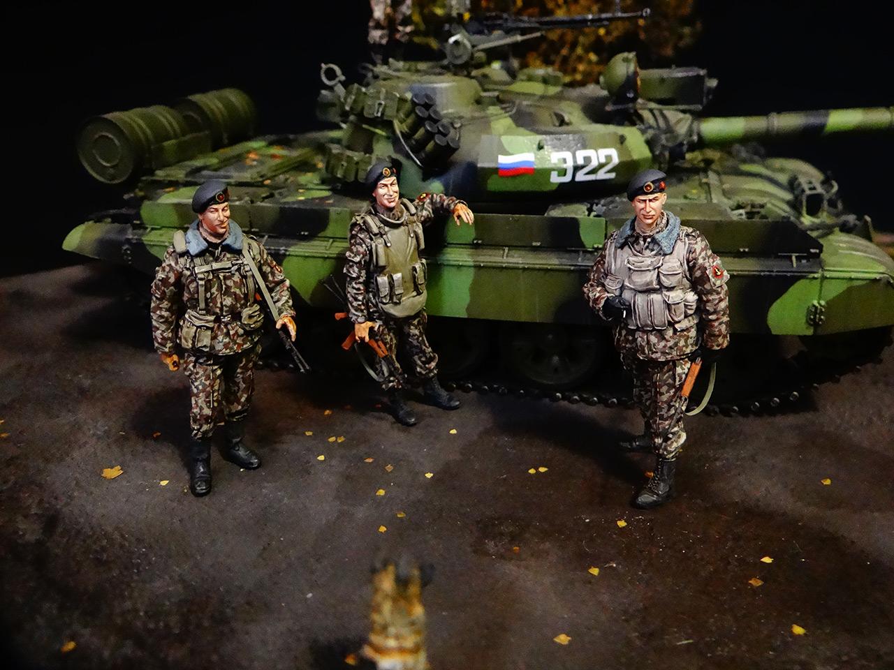 Диорамы и виньетки: Т-55АМ морской пехоты, фото #2