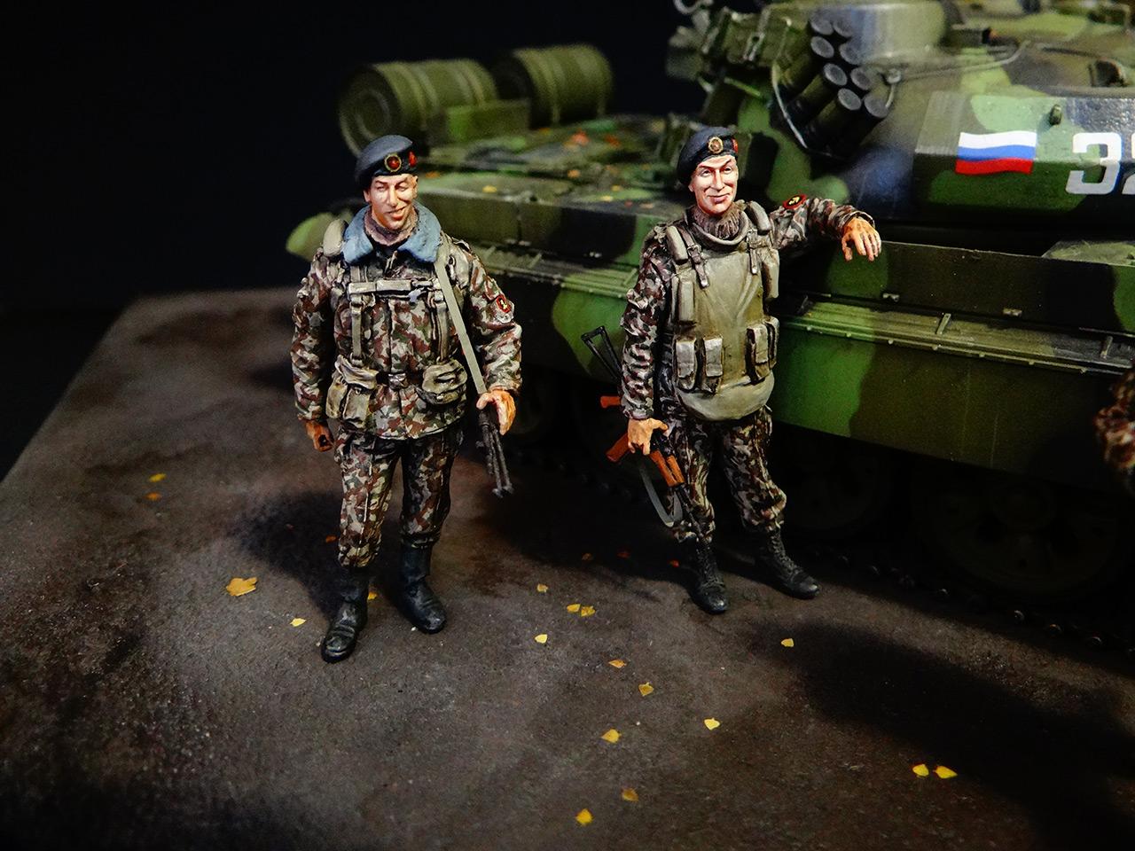 Диорамы и виньетки: Т-55АМ морской пехоты, фото #3