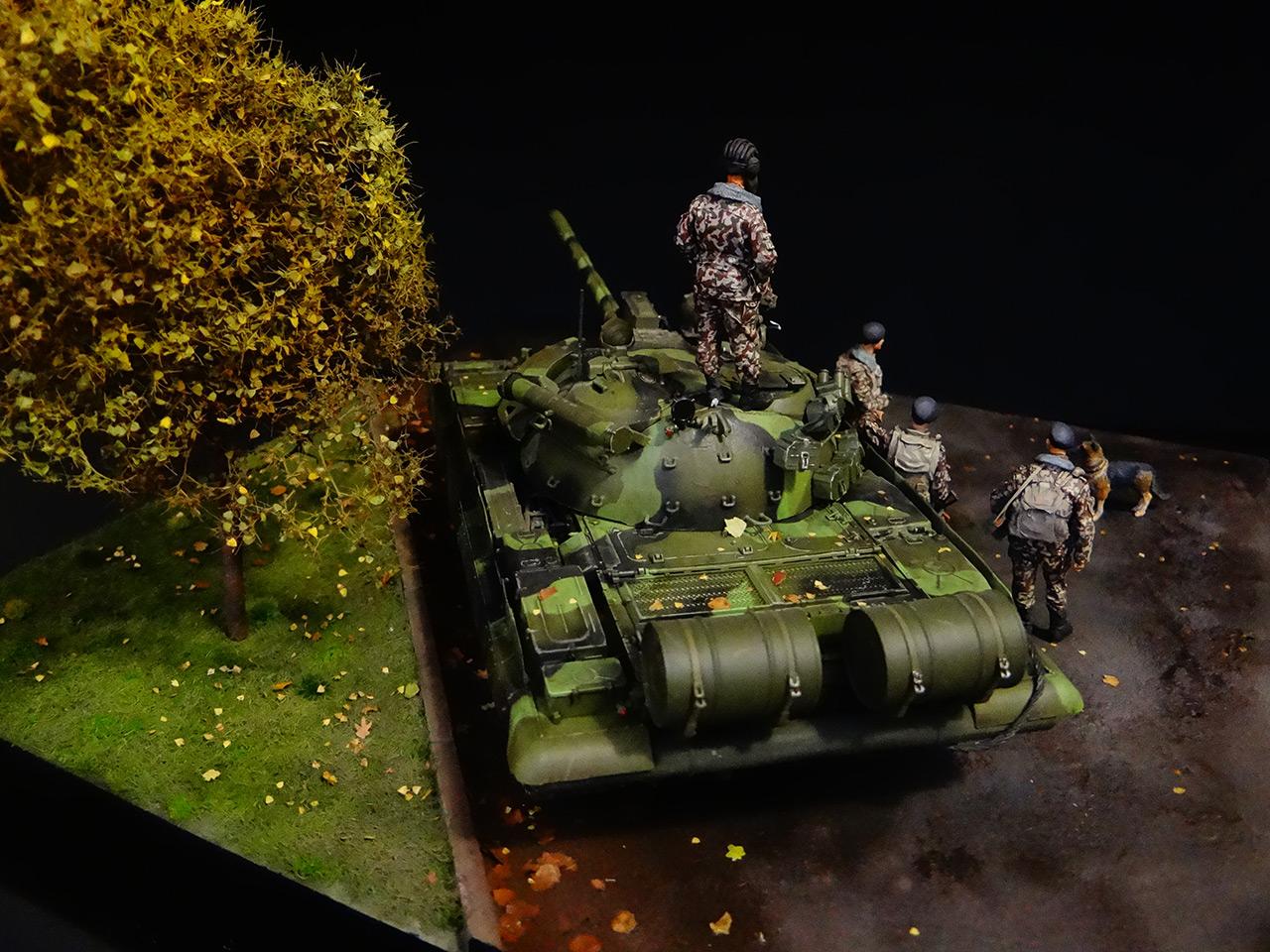 Диорамы и виньетки: Т-55АМ морской пехоты, фото #8