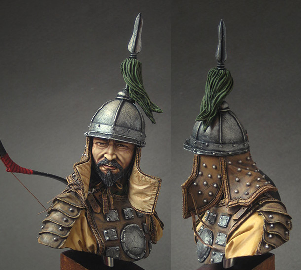 Фигурки: Монгольский воин
