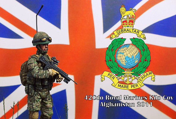Фигурки: Royal Marines