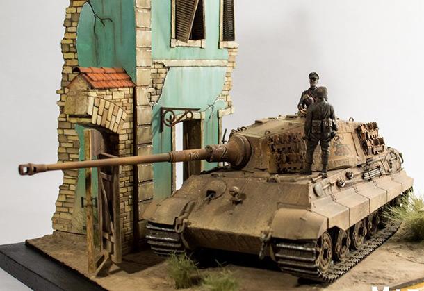 Диорамы и виньетки: PzKpfw VI Ausf. B Koenigstiger