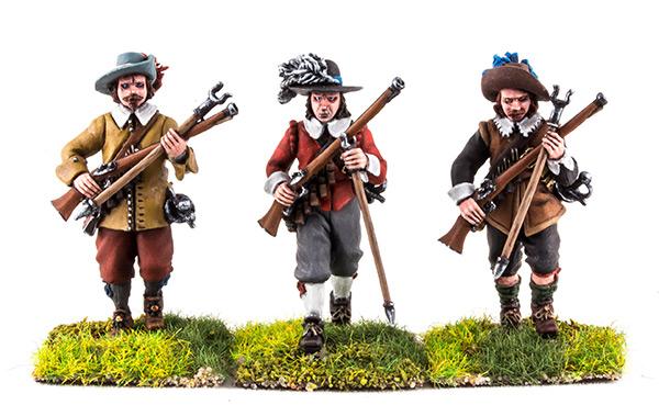 Фигурки: Тридцатилетняя война. 1618-1648