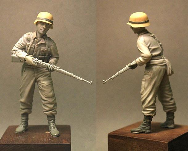 Скульптура: Солдат Вермахта