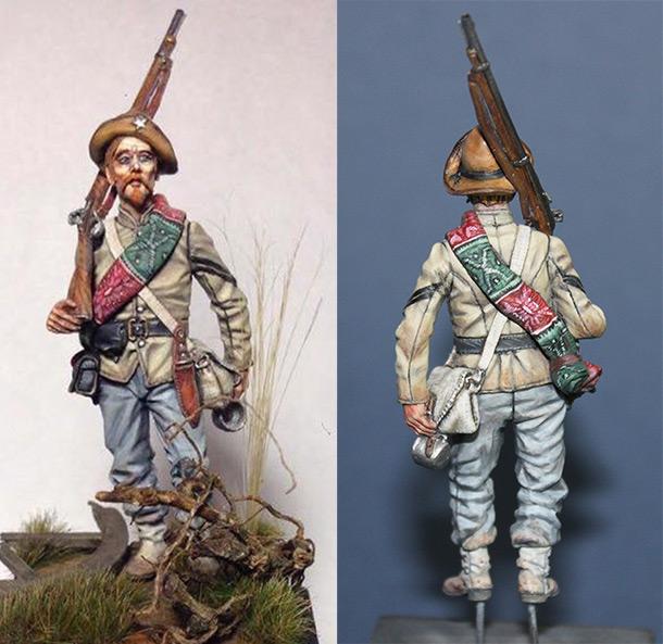 Фигурки:  Капрал 4-го Техасского полка, Геттисберг, 1863 г.