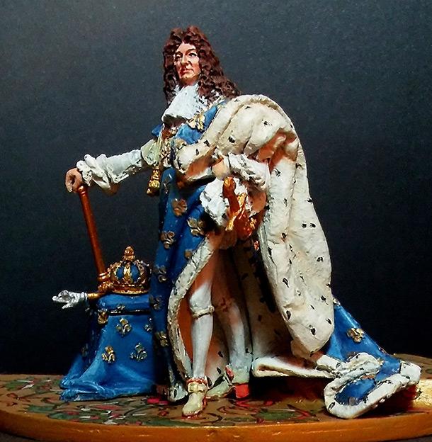 Фигурки: Луи XIV. Король-Солнце. Фигура 54мм.