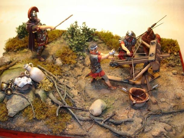Диорамы и виньетки: Римская катапульта