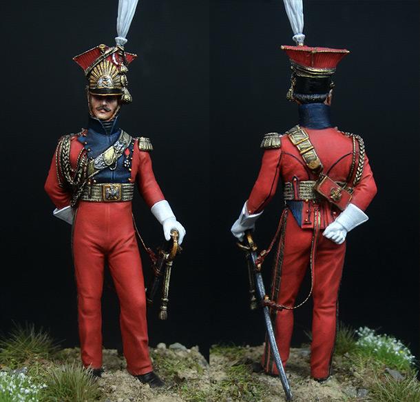 Фигурки: Офицер Красных улан, 1813 г..