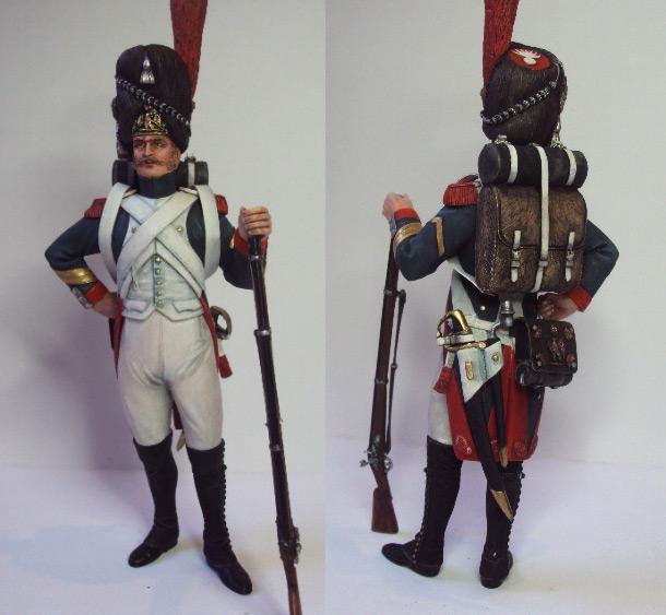 Фигурки: Гвардейский гренадер армии Наполеона