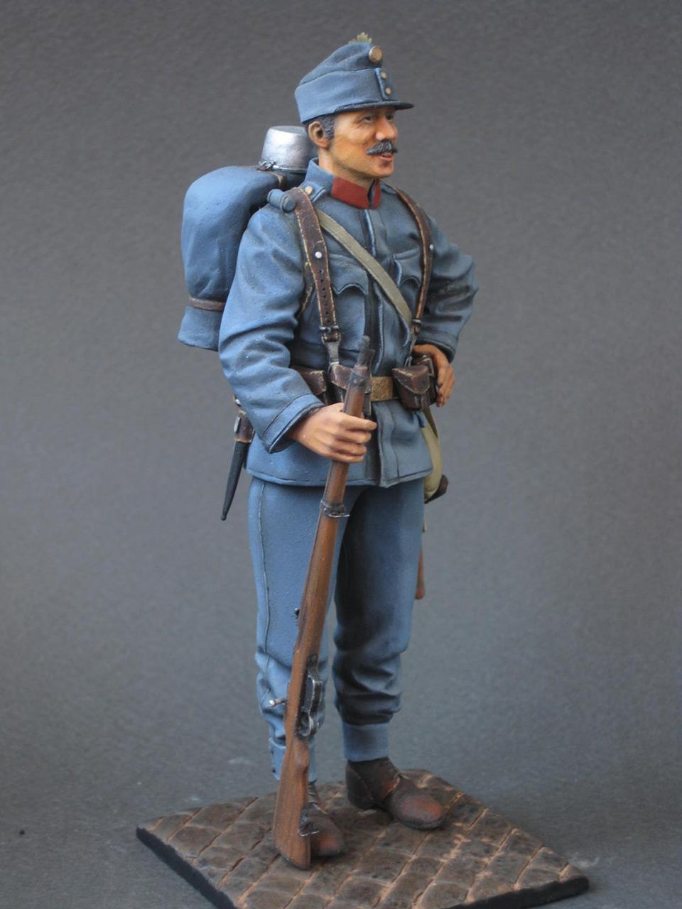 Фигурки: Австро-Венгерский пехотинец, 1914 г. , фото #9