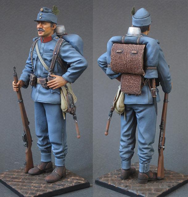 Фигурки: Австро-Венгерский пехотинец, 1914 г.