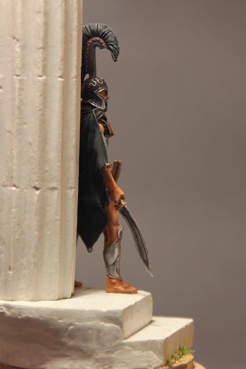 Фигурки: Воин смерти. Феспийский гоплит, фото #4